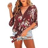 HWTOP Tops Damen Sommer Sexy Kurz Hawaiihemd Damen 3XL Blusen Damen Sommer Große Größen Elegant Hawaiihemd Damen 5XL Sweatshirt Sport Damen Bluse Schulterfrei Schwarz Hemd Damen Kurzarm Weiss XXL