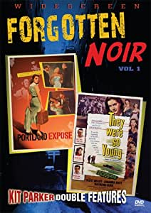 Forgotten Noir 1: Portland Expose & They Were So [Import USA Zone 1]