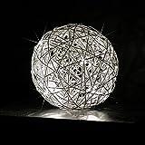 s.LUCE Mesh S Unlimited LED Drahtkugel Tischleuchte Ø 15 cm Tischlampe Effektlampe
