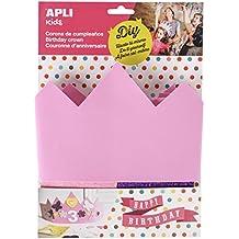 APLI Kids 14479 EVA espuma rosa cumpleaños corona compatible con todos los ...