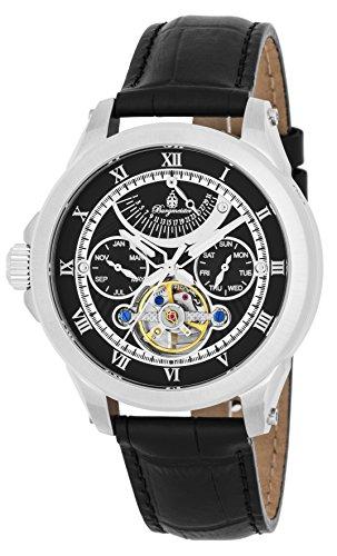 Burgmeister orologio da uomo automatico Colorado Springs, BM350-122, orologio da polso mancino