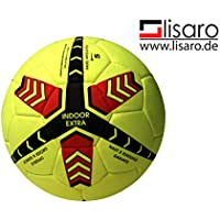 Lisaro Indoor-Fussball Indoorball aus Echt valurleder