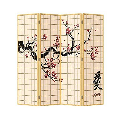 Fine Asianliving - Biombo - tabique decorativo para habitaciones - SEP