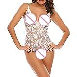 JiaMeng Damen Dessous Babydoll Sexy Nachthemd Kleid Siam Body Unterwäsche
