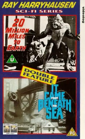 20 Million Miles/It Came From Outer Beneath Sea [VHS] [UK Import]