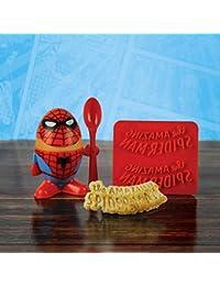 Marvel Comics Spiderman Eierbecher und Toastschneide