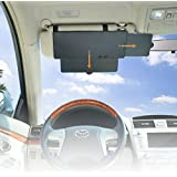 WANPOOL Car Visor Anti-Glare Sunshade Extender for Front Seat Driver and Passenger