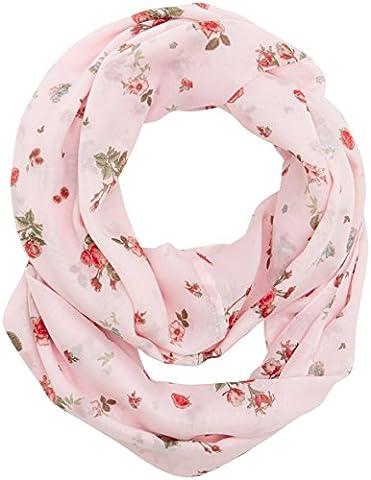 edc by Esprit Accessoires 087ca1q001, Echarpe Femme, Rose (Nude 685),