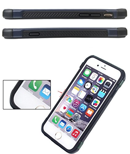 iPhone 6 Plus/6s Plus/ hülle vanki® Tarnung Schutzhülle Case Cover Bumper Anti-Scratch TPU+PC Handyhülle für iPhone 6 Plus/6s Plus (5,5 Zoll) (E) C