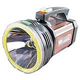 NJDHAS Tragbare Suchscheinwerfer 1000 Meter Wild Outdoor Patrol LED-Taschenlampe