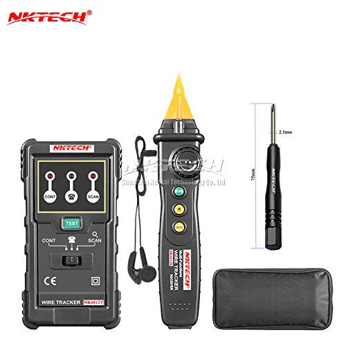 nktech nk5900 Drei Motor Phase Rotation Indikator Meter Sequence Tester Digital Multimeter Rotary LED Magnetfeld Rückseite Zeit Messung System