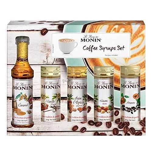 Monin - Speciality Coffee Syrup Set - 5 x 50ml