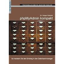 phpMyAdmin kompakt