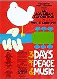 Classic Posters Woodstock Concert Affiche de Photo 40x 30cm