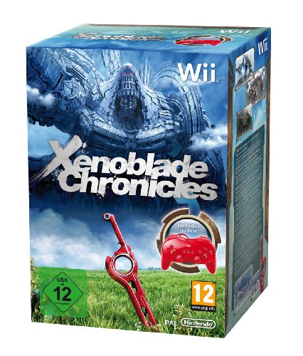 Xenoblade Chronicles - Limited Edition inkl. Classic Controller Pro Red