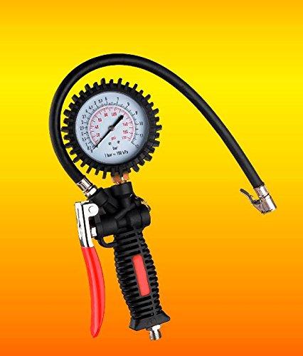 LGV-Pistola-Gonfiaggio-Manometro-Professionale-Pressione-Compressore-Rapido-Gomme