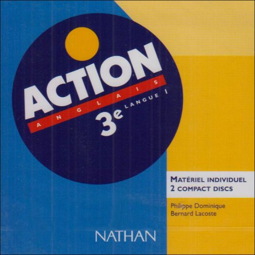 Action : Anglais 3e LV1 (coffret de 2 CD)