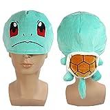 Juego de Pokémon Cosplay/squirtle Cosplay Squirtle gome pieza de coleccionista de suave de peluche en forma de gorro sombrero lindo gorra