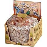 Quiko Picorée Snack Papaye Friandise pour Oiseau 140 g - Lot de 3