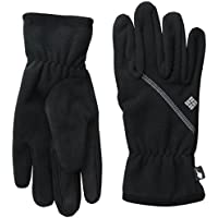 Columbia Wind Bloc Guantes, Mujer, Negro (Black), XL