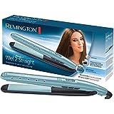 Remington S7300 Wet 2 Straight - Plancha de pelo, cerámica avanzada, uso seco y