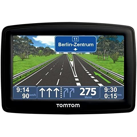 TomTom XL IQ Routes edition² Europe - Navegador GPS con mapas de Europa Central (4.3 pulgadas, con canal TMC, Táctil, no incluye Península Ibérica)