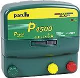 Patura Weidezaungerät P 4500 MaxiPuls - 12 Volt/230 Volt - 10-stufige Zaun- und Batteriekontrolle - für hohe Hütesicherheit und bei robusten Tieren - mit Tiefentladeschutz