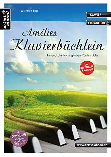 hlein: Romantische, leicht spielbare Klavierstücke, für Kinder, Jugendliche & Erwachsene (inkl. Download). Gefühlvolle Klavierballaden. Spielbuch. Piano. Klaviernoten. ()