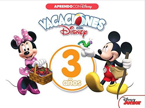 Vacaciones con Disney. 3 años (Aprendo con Disney) por Disney
