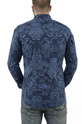 SCOTCH & SODA, Hemd mit Print Blau Blau