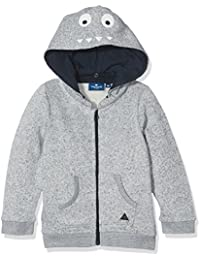 TOM TAILOR Kids Baby Boys' Sweat Jacket With Hood Print Sweatshirt