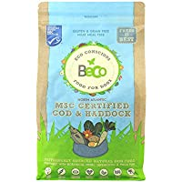 Beco Dog Food - MSC Cod & Haddock with Kale and Chickpeas - 2kg - Natural Grain Free Ethical Dog Food with No Artificial Preservatives