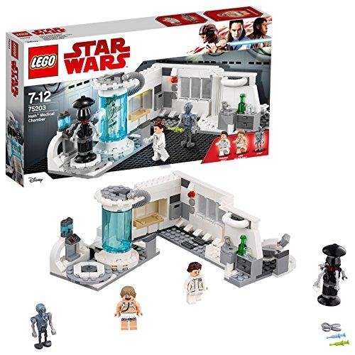 LEGO- Star Wars Juego de construcción de cámara médica a Hoth, (75203)