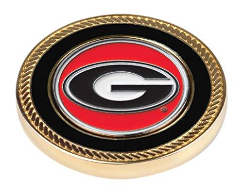 LinksWalker 2Georgien bulldogs-challenge Coin/2BALL MARKER, silber, one size (Silber-herausforderung Münze)
