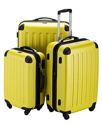 Hauptstadtkoffer Juego de maletas, amarillo (amarillo) – 1203-GL