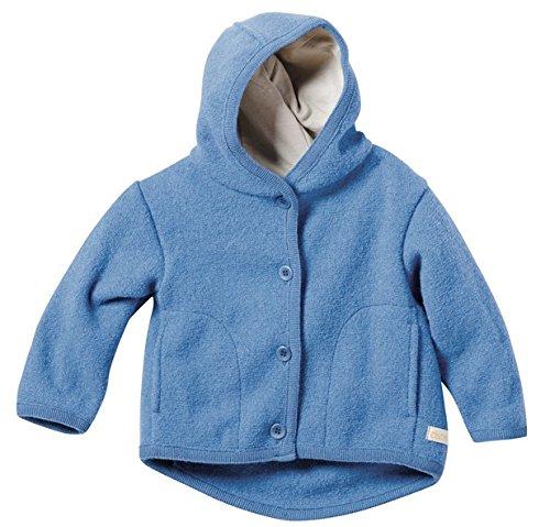 Disana 32302XX - Walk-Jacke Wolle blau, Size / Größe:74/80 (6-12 Monate)