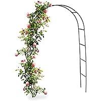 Relaxdays 10010020 - Arco de metal para jardín Rosales