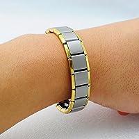 denshine (TM) 80Germanium Titan Energie Power Gesundheit Armor Armband Schmerzlinderung Armband Armreif preisvergleich bei billige-tabletten.eu
