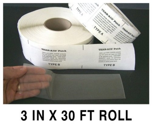 Tear Aid Type B - 30 Foot Roll TA-B-R30