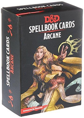 Gale Force Nine GF973915 - Brettspiel Dungeons und Dragons: Arcane Spell Deck