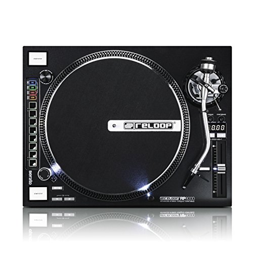 Reloop RP-8000 – DJ Plattenspieler mit MIDI Drumpads u. sehr starkem High Torque Quartz-Direktantrieb, höhenverst. (VTA) Tonarm, Pitch-Bereich (+/-8{6b025518f887147bd8ff4b0ac613de6d084fe2b0beadbe23c4ab06ffee82bbb9}, +/-16{6b025518f887147bd8ff4b0ac613de6d084fe2b0beadbe23c4ab06ffee82bbb9}, +/-50{6b025518f887147bd8ff4b0ac613de6d084fe2b0beadbe23c4ab06ffee82bbb9}), (schwarzmetallic)