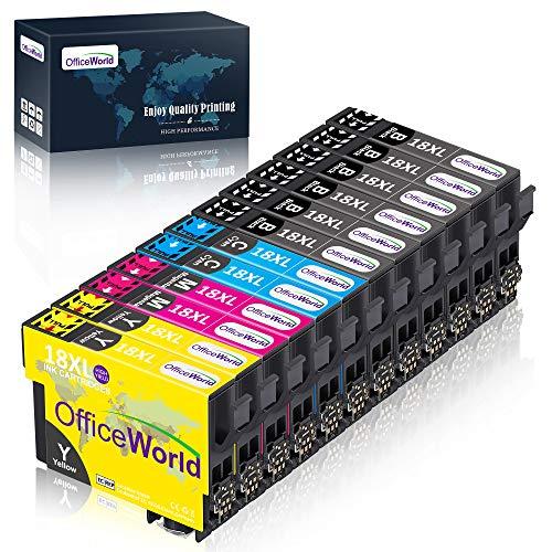 OfficeWorld 18XL Alta Capacidad Cartuchos