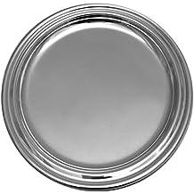 Sottobottiglia Sottobicchiere supporto bottiglie d 14cm placcato argento placcato argento