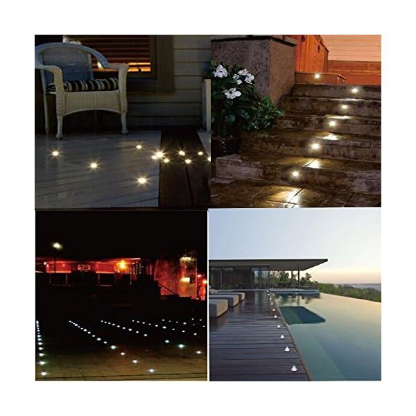 LED DECKING LIGHTS PLINTH LIGHTS KITCHEN BATHROOM DECK GARDEN LIGHTING PATHWAY