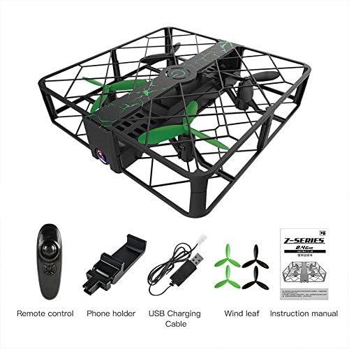 ZZH Drones avec 200W caméra Pixel, Avion Durable Quatre Axes RC Stable Cardan Début Drones capacité pour Les  s Adultes débutants | Une Bonne Conservation De Chaleur
