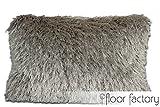 Prestige silber grau Sofakissen Dekokissen Couchkissen 40x60cm
