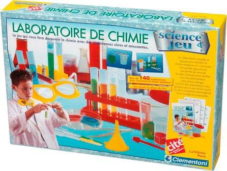 Clementoni - Sciences et Nature - Laboratoire de Chimie