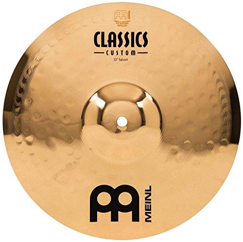 Meinl Cymbals CC12S-B Classics Custom Serie 30,48cm (12 Zoll) Splash Brilliant Finish Becken