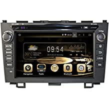 TOPNAVI 7inch 1024*600 Android 5.1.1 Auto GPS navigation for HONDA CRV 2006-2011 Car DVD Player Wifi Bluetooth Radio 1.6 GB CPU Rockchip RK3188 Cortex A9 DDR3 Capacitive Touch Screen 3G car stereo audio Google Play CarPlay 16G Quad Core