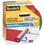 Scotch 42032050B - Cinta Adhesiva De Doble Cara Extraíble Para Moquetas Y Alfombras, Transparente